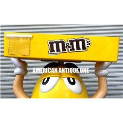 M&M's figure yellow