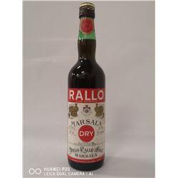 DIEGO RALLO & FIGLI MARSALA SUPERIORE DRY WINE.