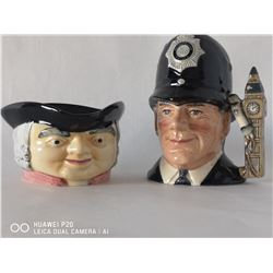 ROYAL DOULTON THE LONDON BOBBY WITH HAND CRAFTED