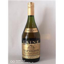 LAINE NAPOLEON RARE FRENCH BRANDY. 750ML BOTTLE