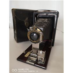 ANTIQUE 1903 POCKET. C CAMERA WITH CASE