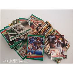 LOT OF APPROX 150 VARIOUS SPORTS CARDS