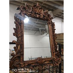 "DECORATIVE FRAMED MIRROR 43"" X 30"""
