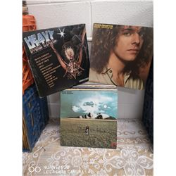 LOT OF VINTAGE ROCK RECORDS INCL. HEAVY METAL  AND