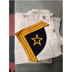 STABLE DUTY TROUSERS AND BADGE