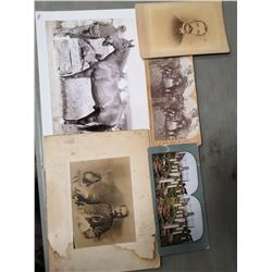 LOT OF WAR PHOTOS FROM THE 1880'S INCL. A