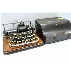 """ANTIQUE 1890""""S BLICKENSDERFER TYPEWRITER STAMFORD."""