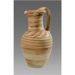 Ancient Daunian Ware Pottery Oinochoe c.4th century BC.