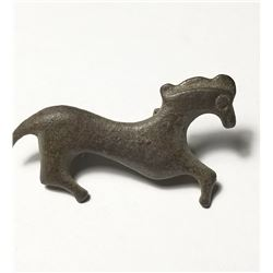 A Bronze Roman Fibula of a Horse c.2nd -3rd Cent. CE.
