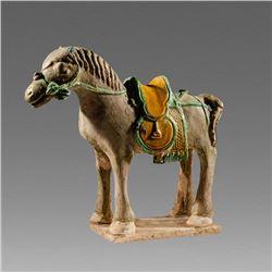 China, Ming Dynasty Rider-less Horse c.13th century AD.