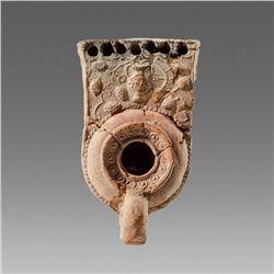 JUDAEA. Late Roman, Oil Lamp c.3rd-5th cent CE.