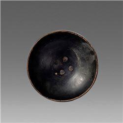 Ancient Magan Graecia Blackware Bowl c.4th cen BC.