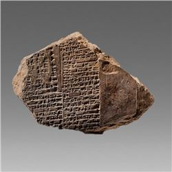 Ancient Old Babylonian Clay Tablet c.1900 BC.