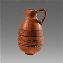 Ancient Cypriot Pottery Jug Iron Age c.1050 BC.