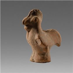 Ancient Roman, Byzantine Terracotta Rooster c.2nd Cent AD.