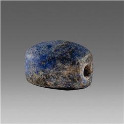 Ancient Near Eastern Lapis Lazuli Scaraboid c.700 BC.