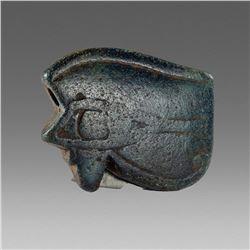 Ancient Egyptian Stone Eye Of Horus Amulet c.1069-656 BC.