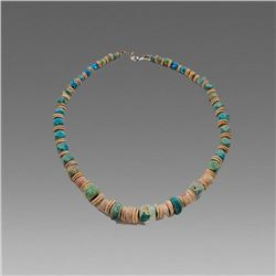 Ancient Near Eastern Mixed Bead Necklace c.1st Millenium BC.