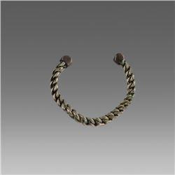 Ancient Roman Silver Bracelet c.2nd-3rd cent AD.