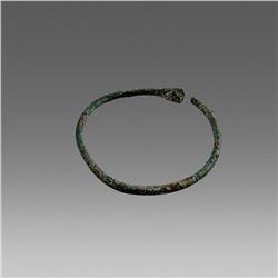 Ancient Roman Bronze Bracelet c.2nd cent AD.