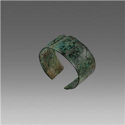 Ancient Luristan Bronze Bracelet c.800 BC.