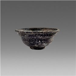 Roman Style Mosaic millefiori glass bowl.