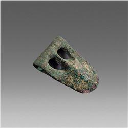 Ancient Canaanite Duckbill War Axe c.1500-1200 BC.