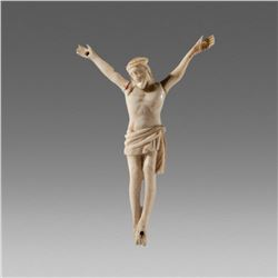 Antique Bone figure of Christ Corpus Christi Holland c.17th cent AD.