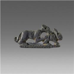 Ancient Roman Bronze Brooch Fibula c.2nd cent AD.