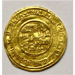 Fatimid. al-Amir, AH 495-524/ 1101-1130 AD. Gold Dinar, al-Mu`izziya al-Qahira, AH 519.