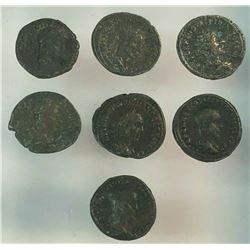 Lot of 7 Roman Provencial Tetradrchm
