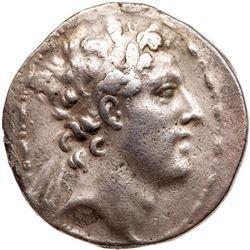 Ancient Greek Seleukid Kingdom. Antiochos IV Epiphanes. Silver Tetradrachm