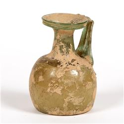 Ancient Roman Glass Jug c.2nd century AD.