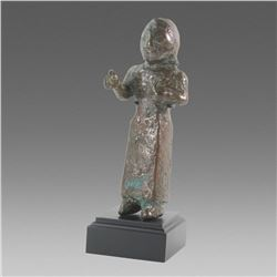Indian Bronze Figure of Deity probably 17th century.