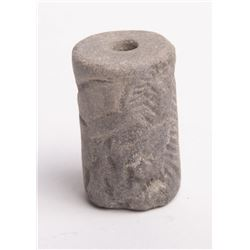 Ancient Mesopotamian Stone Cylinder Seal c.1900 BC.
