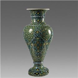 Turkish,  Monumental Ceramic Urn size 27 1/2 inches high.