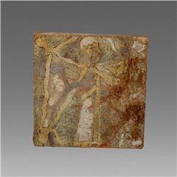 Ancient Near Eastern Pottery Brick c.1000 BC.
