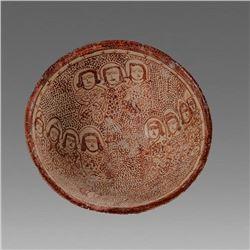 Islamic Persian Luster ware style ceramic Bowl.