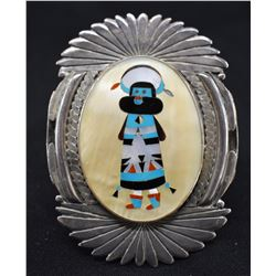 ZUNI INDIAN BRACELET  (PAUL PEYKETEWA)