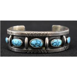 NAVAJO INDIAN BRACELET (RAMON  PLATERO)
