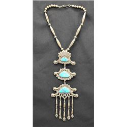 ZUNI INDIAN NECKLACE (LEE& MARY WEEKBOTHEE)