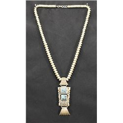 NAVAJO INDIAN NECKLACE (TULLY SAM)