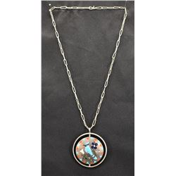 NAVAJO INDIAN PENDANT NECKLACE (JAKE LIVINGSTON)