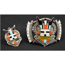 ZUNI INDIAN BRACELET & RING (TONY & RITA)