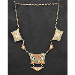 ZUNI INDIAN NECKLACE (GARRETT & SERENA BANTEAH)