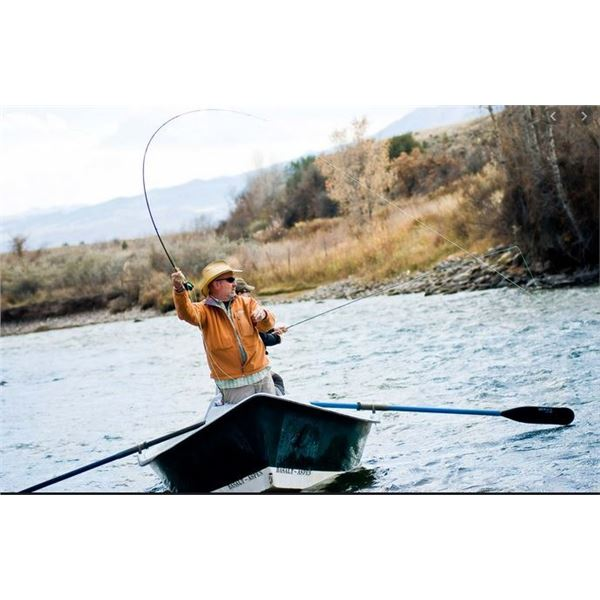 Float Trout Fishing Trip on the Jefferson River in SW Montana with Iron Wheel Guest Ranch