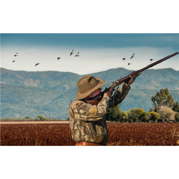 HP Wingshooting Adventures Dove Hunt in Argentina for Four Hunters