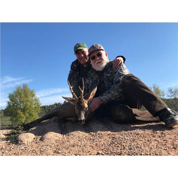 Roe Deer Hunt for One in Spain with Hunt Trip Spain