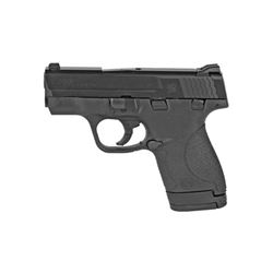"S& W SHIELD 9MM 3.1"" BLK 7& 8RD TS"