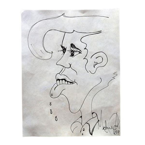Michael Jackson Bad Era Drawing